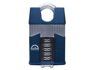 Warrior High-Security Closed Shackle Combination Padlock 65mm